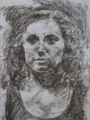 charcoal on toned paper, 2014