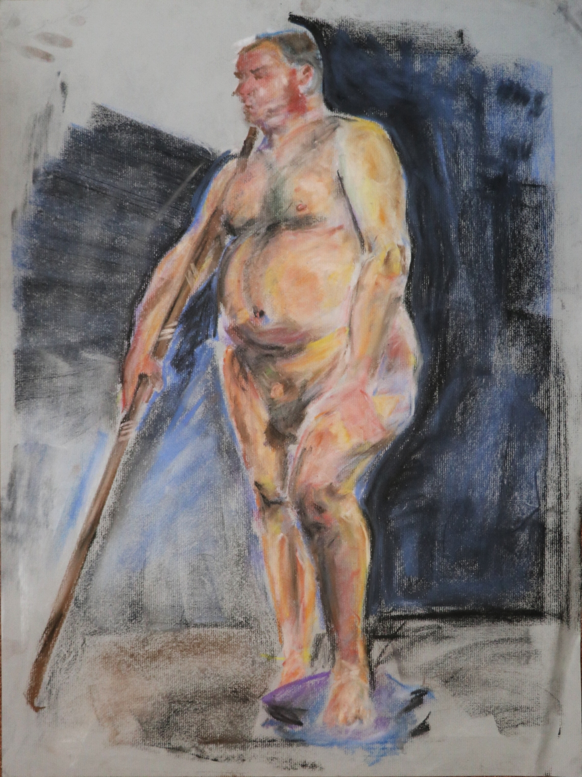Drawing - Standing Man