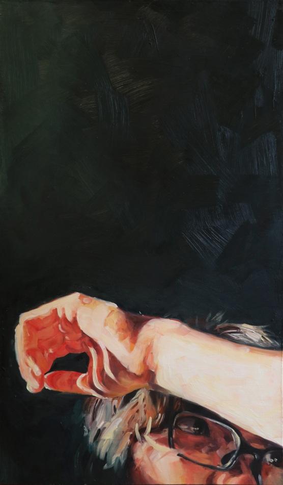 Morning I, 20'' x 36'', oil on linen, 2015